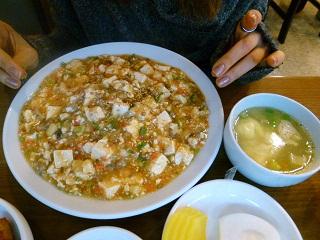 2011年2月釜山の旅 ③済州家のアワビ粥 & 龍門のジャージャー麺_a0140305_132093.jpg