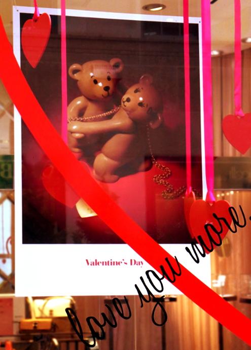 バレンタインの主役はクマちゃん?_b0007805_23452055.jpg