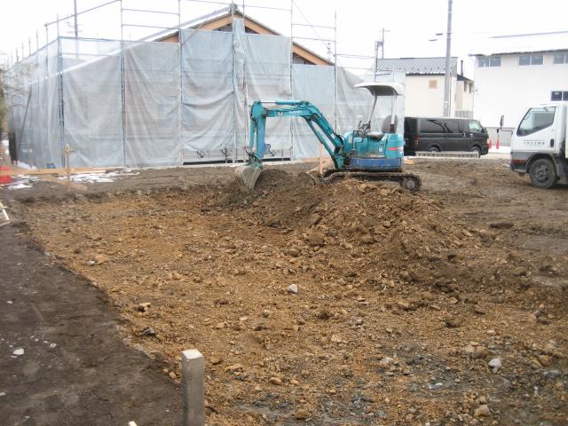 穂高SA邸 工事始まりました。_c0218716_18222477.jpg
