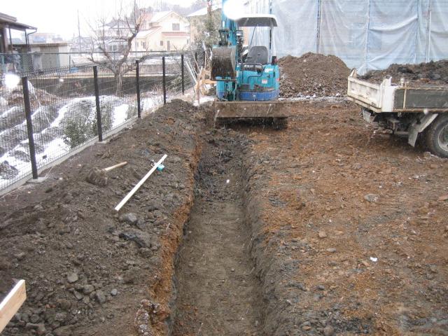 穂高SA邸 工事始まりました。_c0218716_18223565.jpg