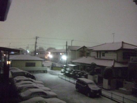 湘南に.....初雪が,,,_b0137932_22363783.jpg