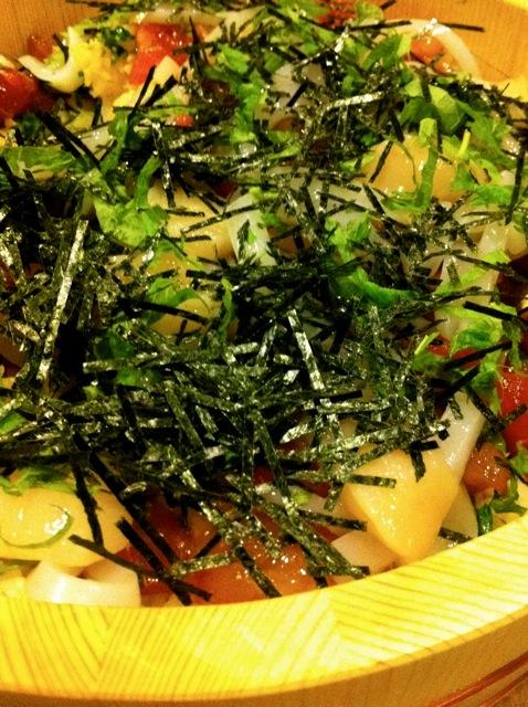 東浩紀さんに「大根2.0」と誉められたうちのSさんのお料理_b0166144_1924520.jpg