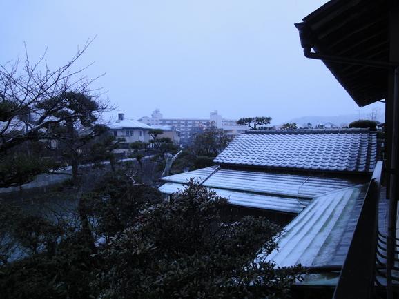 ブーケとチョコと雪景色♪_f0158364_18807.jpg