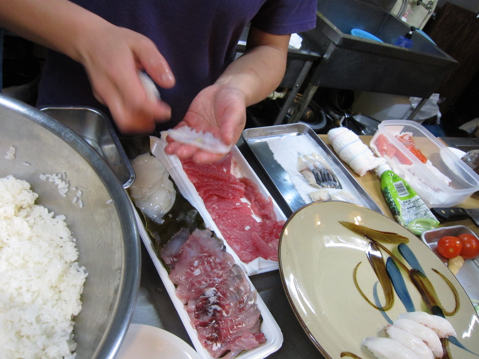sushi & tempra party._c0153966_2291297.jpg