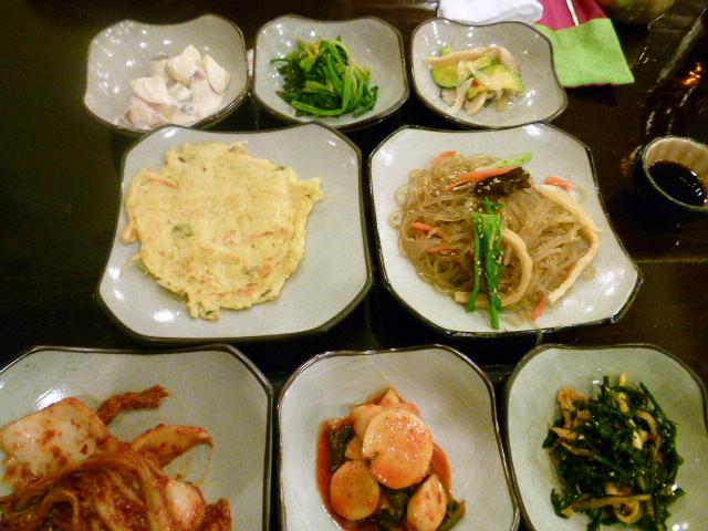 2011年2月釜山の旅 ⑥クンチプで夕ご飯_a0140305_1185374.jpg