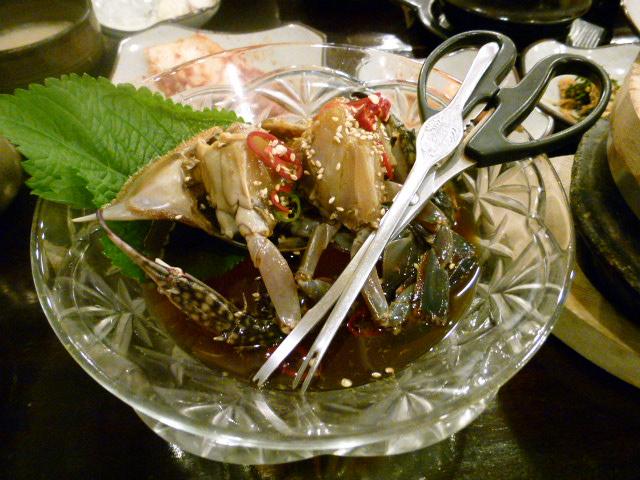 2011年2月釜山の旅 ⑥クンチプで夕ご飯_a0140305_119616.jpg