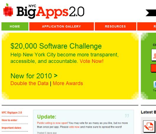 ニューヨーク市による便利なウェブサイトやアプリのコンテスト(NYC BigApps 2.0)_b0007805_1119188.jpg