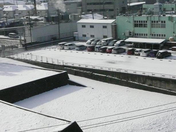雪のち晴れ   姫だるま作り_a0050728_12293329.jpg