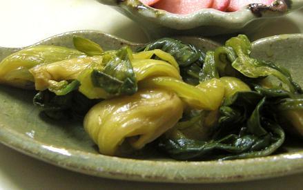 野沢菜もどきの作り方。_c0119140_15295981.jpg