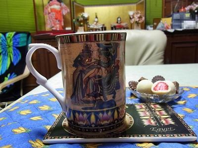 エジプト土産のカップ