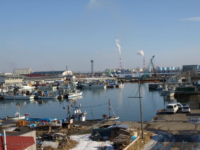 苫小牧漁港 冬_d0153062_95635.jpg