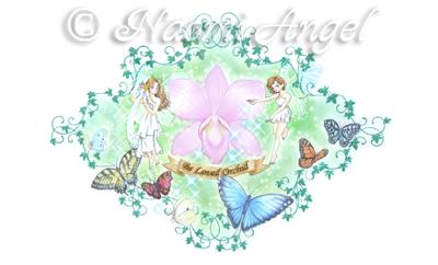デンファレの妖精たちと神の遣いの蝶たち_f0186787_20395980.jpg