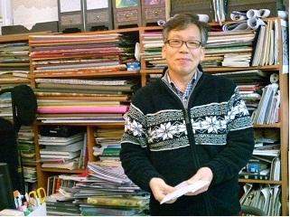 2011年2月釜山の旅 ④チャンオン韓紙店の韓紙工芸_a0140305_1214185.jpg