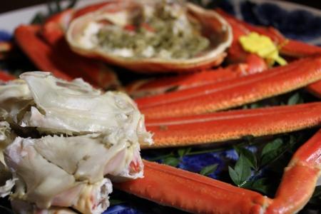 日本最上級のカニ料理(ロケ日記)_f0229508_14432048.jpg