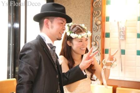 白いお花 花冠&リストレット_b0113510_19394325.jpg
