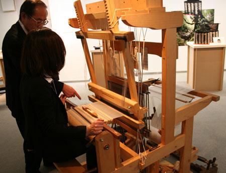 「木織りboisette展」が開催中です。_f0171840_14241935.jpg
