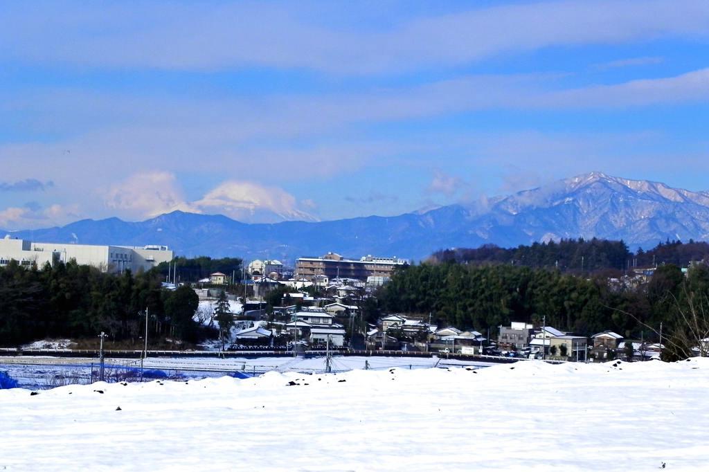 メタリックカラー/銀世界の富士山_b0024798_623554.jpg
