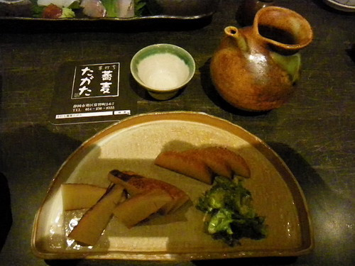 酒と蕎麦の日々11 手打ち蕎麦 たがた_f0175450_18524253.jpg
