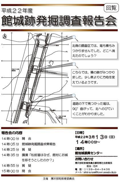 平成22年度館城跡発掘調査報告会_f0228071_8325534.jpg