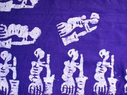 セネガルの染め布☆_b0207873_19544228.jpg