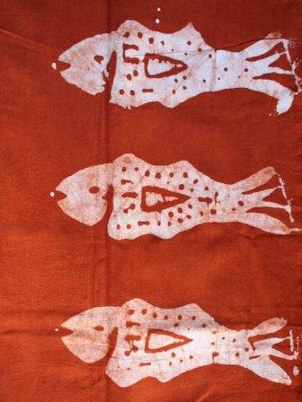 セネガルの染め布☆_b0207873_19552519.jpg