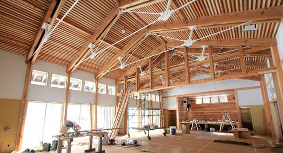 檜山地域拠点施設:白壁_e0054299_1021572.jpg
