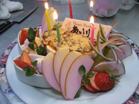 お誕生日ケーキ_f0146620_20581454.jpg