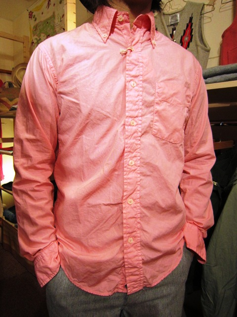 "SERO(セロ) ""COTTON POPLIN B/D SHIRTS\""_f0191324_12305.jpg"