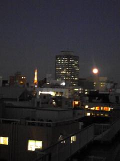 満月と金柑_f0008555_183586.jpg