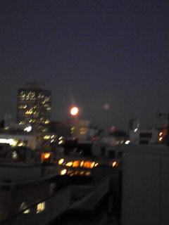 満月と金柑_f0008555_1835989.jpg