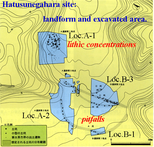Early Upper Palaeolithic Pitfalls in the south foot of Mt.Fuji area_a0186568_22403446.jpg