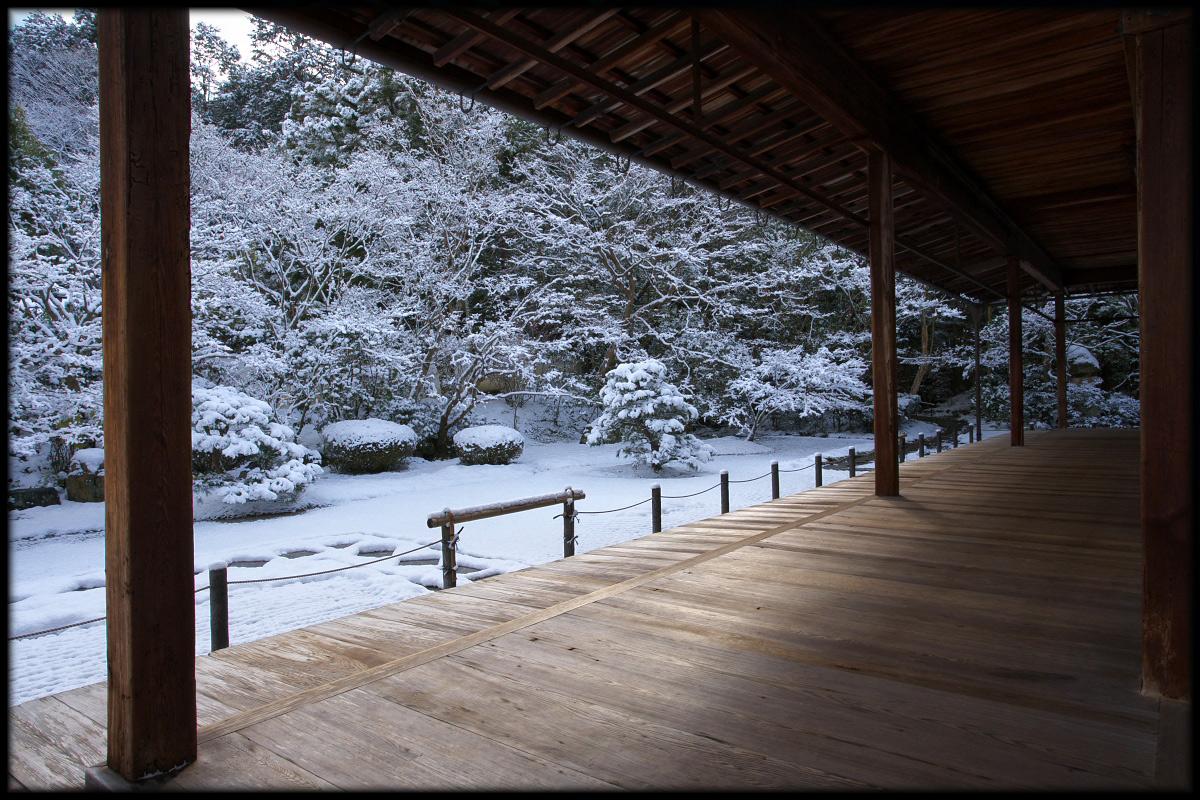 雪景色 <南禅寺 天授庵>_f0021869_2241157.jpg