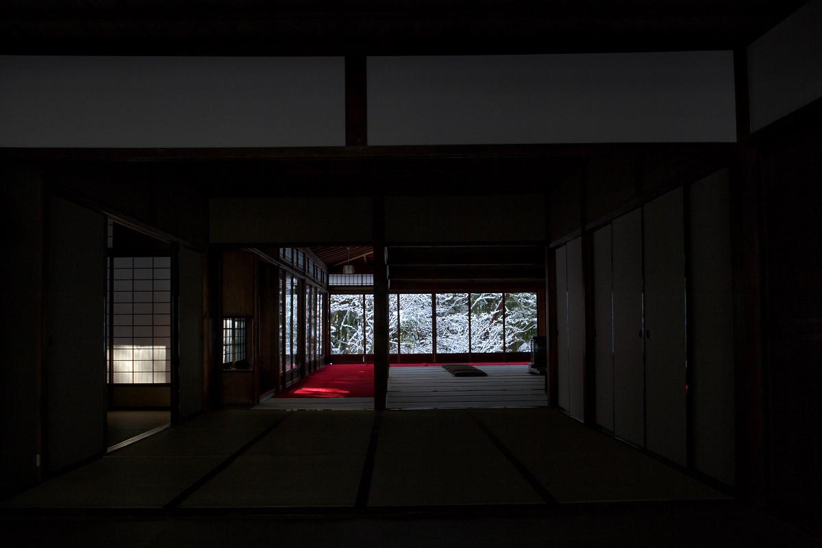 雪景色 <南禅寺 天授庵>_f0021869_22412687.jpg