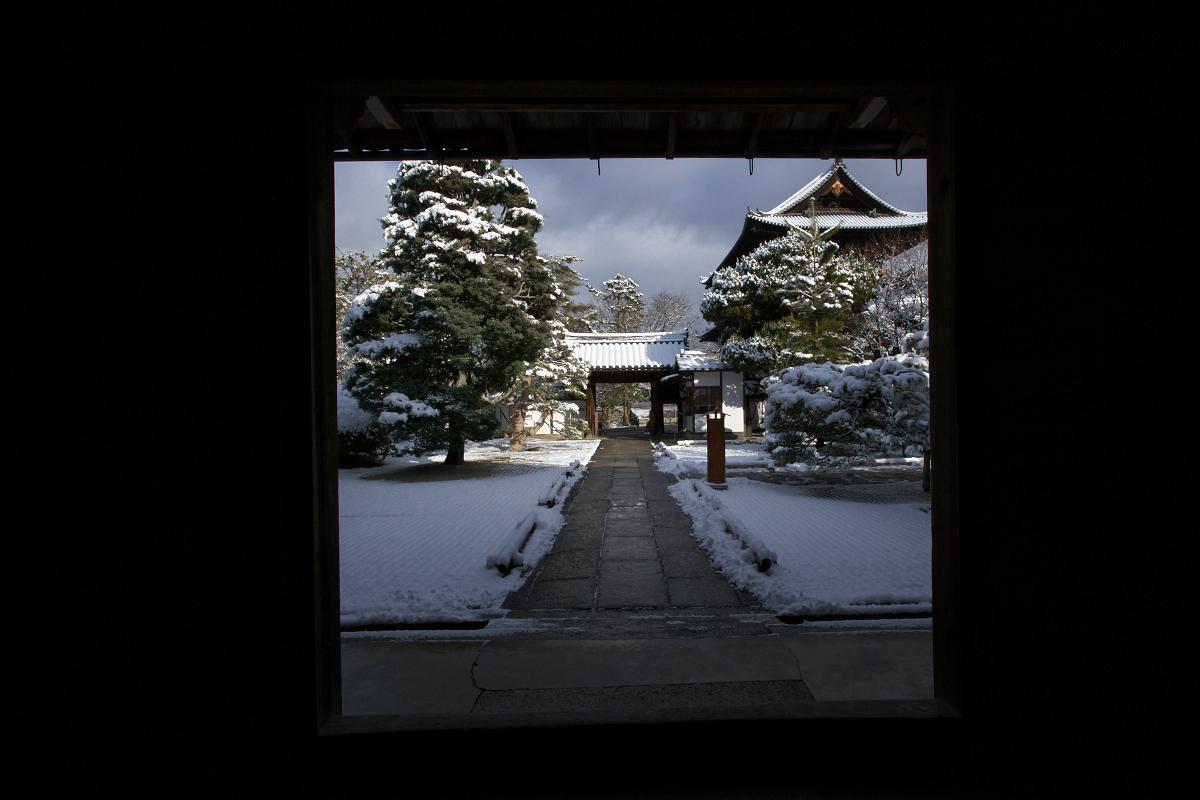 雪景色 <南禅寺 天授庵>_f0021869_22415155.jpg