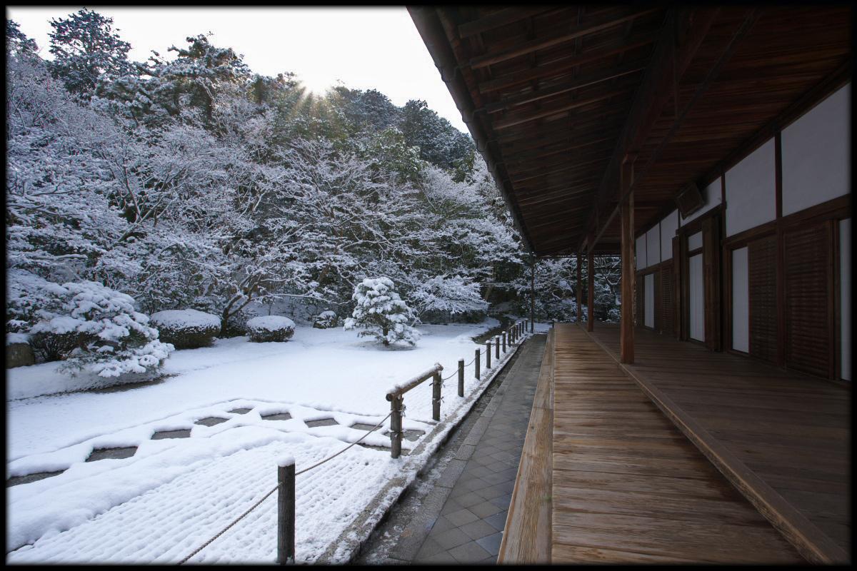 雪景色 <南禅寺 天授庵>_f0021869_22423156.jpg