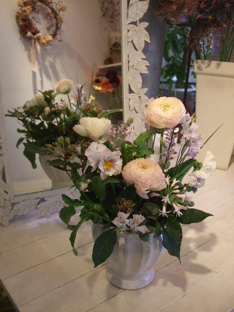 オークリーフ花の教室(落合さんの作品)_f0049672_18195774.jpg