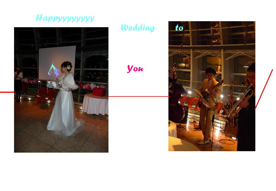 Happy Wedding at Nogizaka_a0188798_1463261.jpg