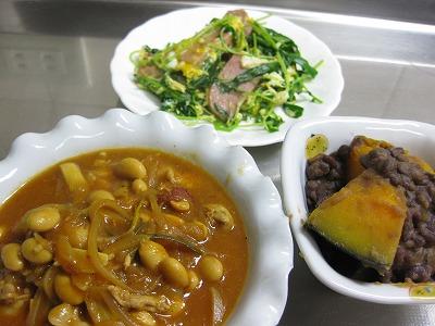豚肉と大豆煮込み、コロッケ、パスタ♪_f0116812_10271315.jpg