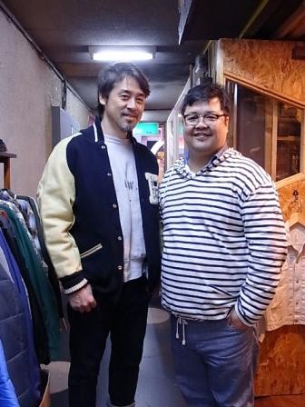 モデルの森島氏が来店されました!_c0144020_20263127.jpg