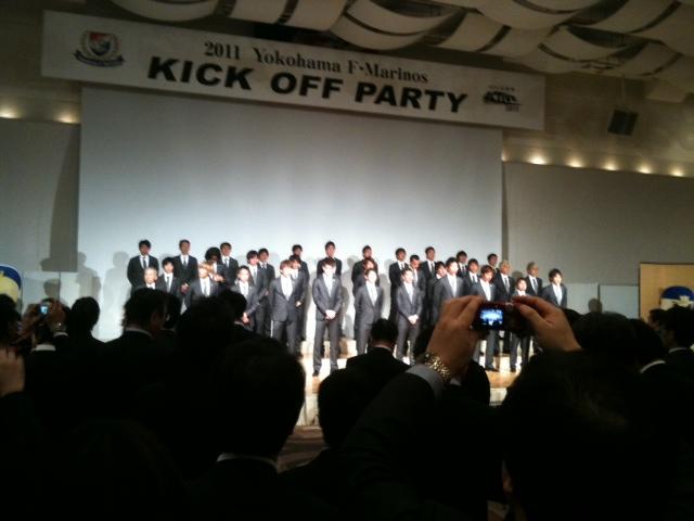 横浜F-マリノス KICK OFF PARTY!_c0063445_219543.jpg