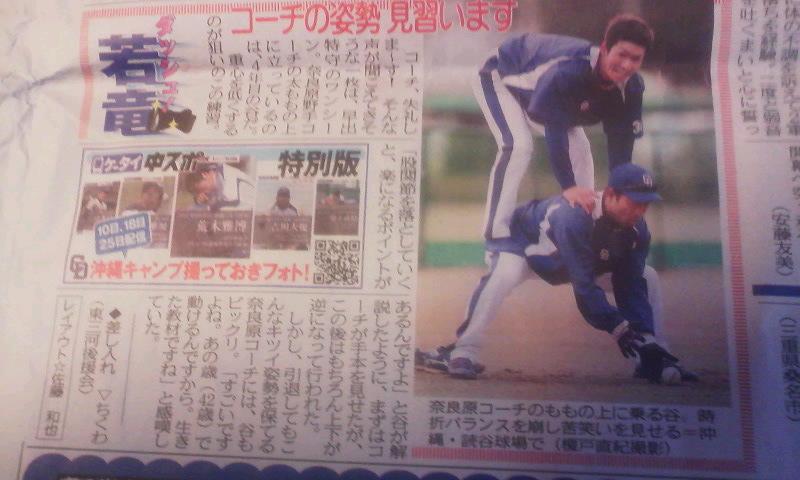 中日スポーツ掲載_a0105698_1851173.jpg