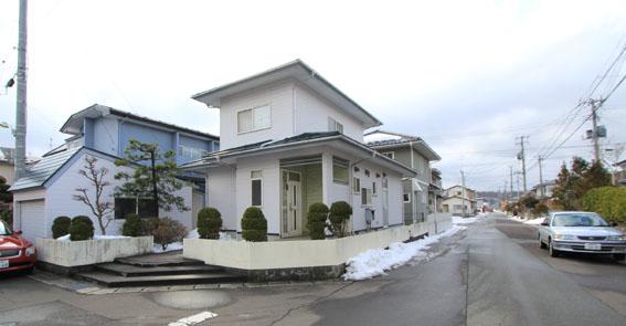 秋田市内の積雪の状況を見る_e0054299_18164069.jpg