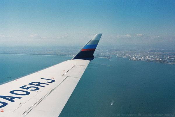 Fair Jet からの眺め_f0164826_23354130.jpg