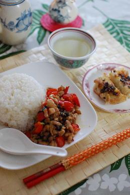 大根餅、鶏肉バジルごはん、ココナツロール_a0175348_2173541.jpg
