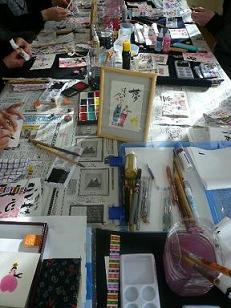 絵手紙教室 その2~♪_e0202518_21315790.jpg