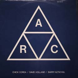 Chick Corea+Dave Holland+Barry Altshul / A.R.C. (ECM1009ST)_d0102724_167039.jpg