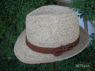 ラフィア素材の帽子 入荷しました!_c0156749_18493067.jpg