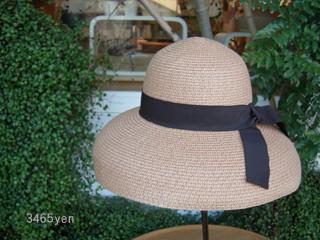 ラフィア素材の帽子 入荷しました!_c0156749_1849441.jpg