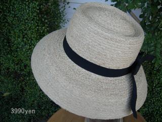 ラフィア素材の帽子 入荷しました!_c0156749_18495862.jpg