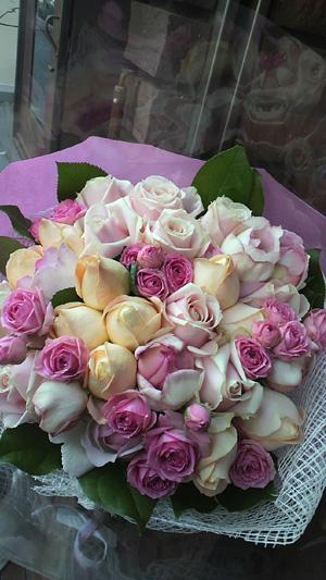 アンティークピンクの花束_c0137266_21532419.jpg